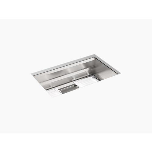 """29"""" X 17-3/4"""" X 10-15/16"""" Undermount Single-bowl Kitchen Sink With Accessories"""