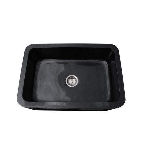 "Ankra Single Bowl Granite Farmer Sink - 33"""