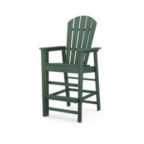 Polywood Furnishings - South Beach Bar Chair in Green