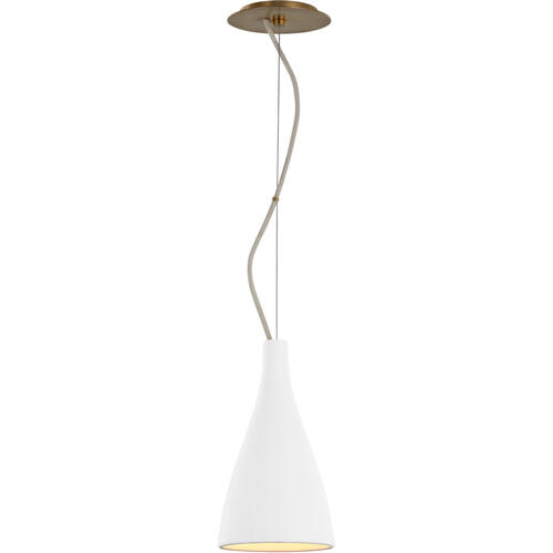 Barbara Barry Nimbus LED 7 inch Matte White Pendant Ceiling Light, Small