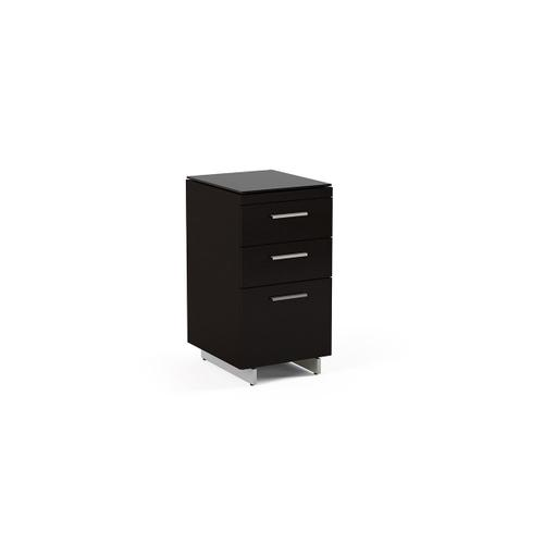 3 Drawer File Cabinet 6014 in Espresso