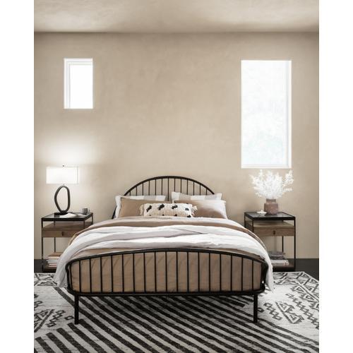 King Size Waverly Iron Bed