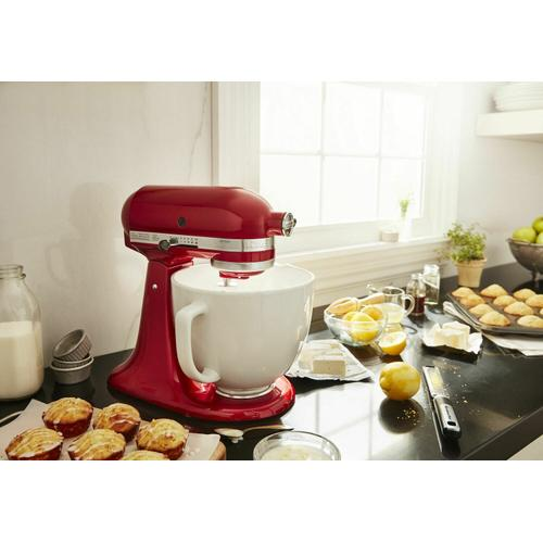 Gallery - Exclusive Artisan® Series Stand Mixer & Ceramic Bowl Set - Empire Red
