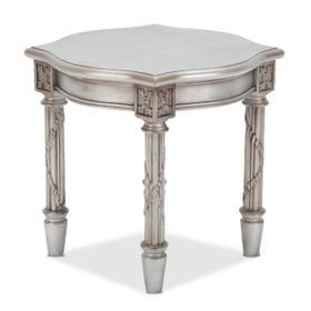 Giselle End Table Platinum