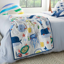 "Product Image - Plush Cr941 Multicolor 36"" X 48"" Quilt"