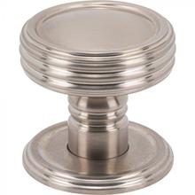 View Product - Divina Knob 1 1/2 Inch Brushed Satin Nickel Brushed Satin Nickel