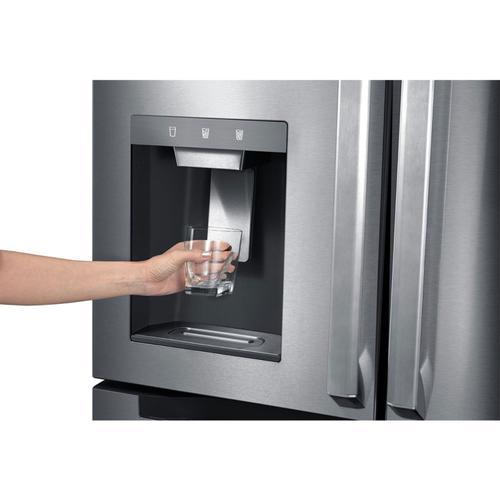 Midea - 21.6 Cu. Ft. French Door Refrigerator