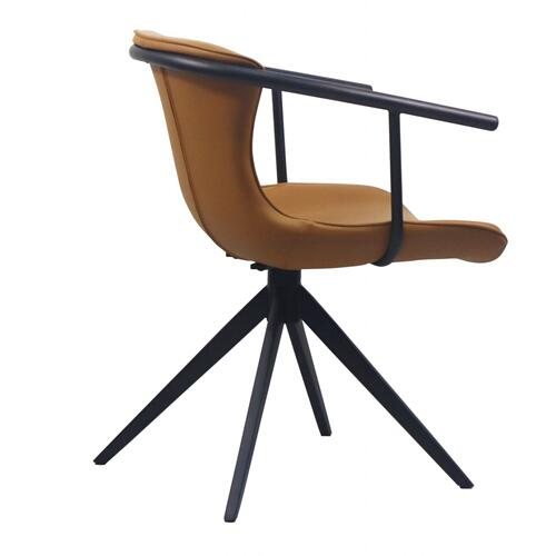 VIG Furniture - Modrest Maureen - Modern Camel & Black Dining Chair