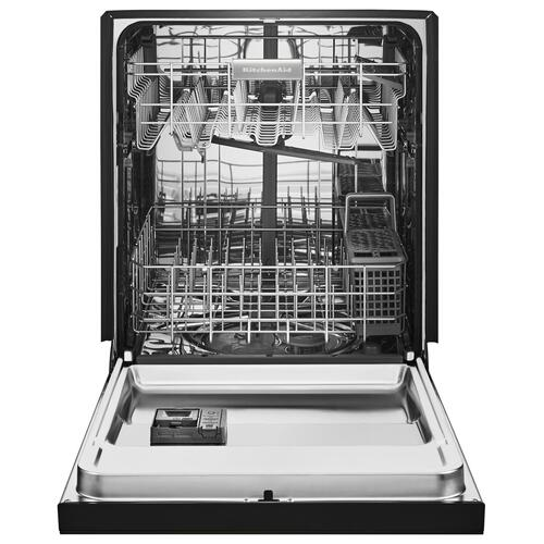 46 DBA Dishwasher with ProWash Cycle and PrintShield Finish, Front Control Black Stainless Steel with PrintShield™ Finish