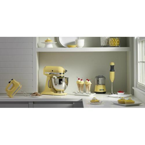 Gallery - Artisan® Series 5 Quart Tilt-Head Stand Mixer - Majestic Yellow