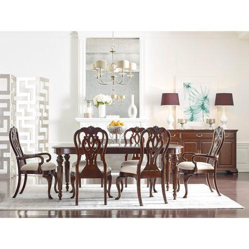 "Hadleigh Oval Dining Table W/ 2 20"" Leaves"
