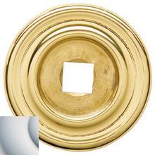 View Product - Satin Chrome Knob Back Plate