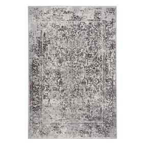 """Milagros Charcoal - Rectangle - 3'11"""" x 5'6"""""""