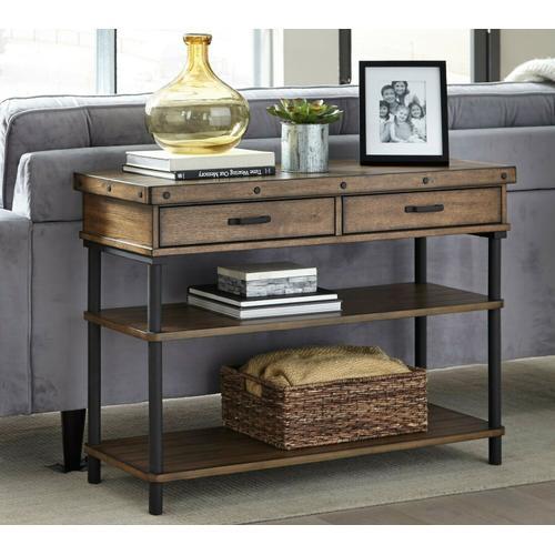 Null Furniture Inc - Sofa/Media Console