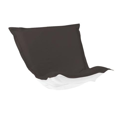 Puff Chair Cushion Seascape Charcoal Cushion and Cover
