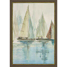 Blue Sailboats II