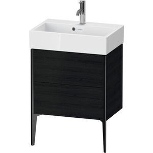 Duravit - Vanity Unit Floorstanding Compact, Black Oak