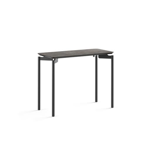 1733 Rectangular End Table BDI in Ferrous