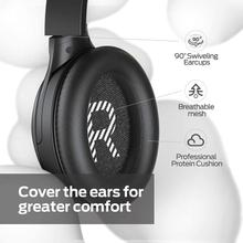 See Details - Monster Persona Active Noise Cancelling Headphones Over Ear Bluetooth Headphones Deep Bass Stereo Sound Quick Charge Memory Foam Ear Cushions 30H Playtime for Travel Home Office (Black)
