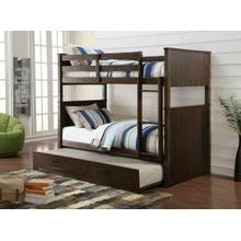 ACME Hector Twin/Twin Bunk Bed - 38025 - Antique Charcoal Brown