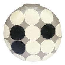 See Details - Polka Dot Vase Round