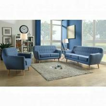 ACME Ngaio Sofa - 52655 - Blue Linen