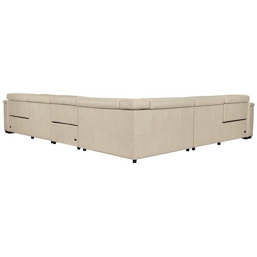Lioni Power Motion Sectional in Mocha (751)