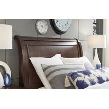 Canterbury - Warm Cherry Complete Sleigh Bed, Twin 3/3