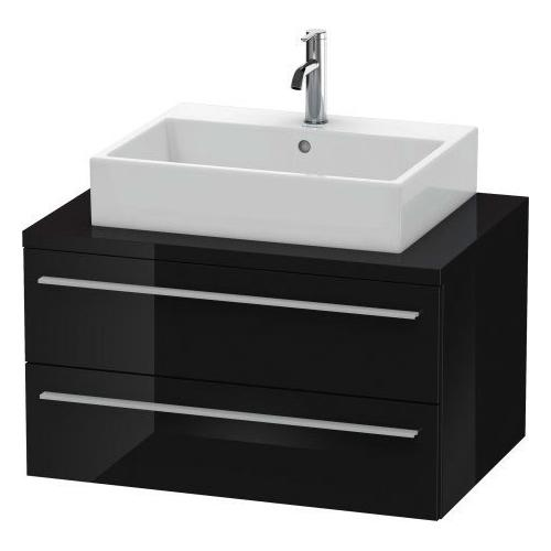 Product Image - Vanity Unit For Console, Black High Gloss (lacquer)