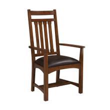 View Product - Oak Park Narrow Slat Arm Chair