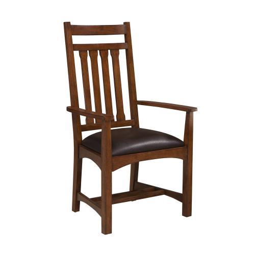 Intercon Furniture - Oak Park Narrow Slat Arm Chair