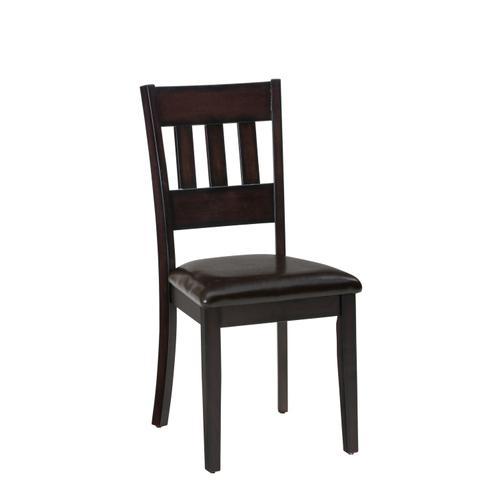 Jofran - Dark Rustic Prairie Dining 5 Pack- Dining Table W/(4) Chairs