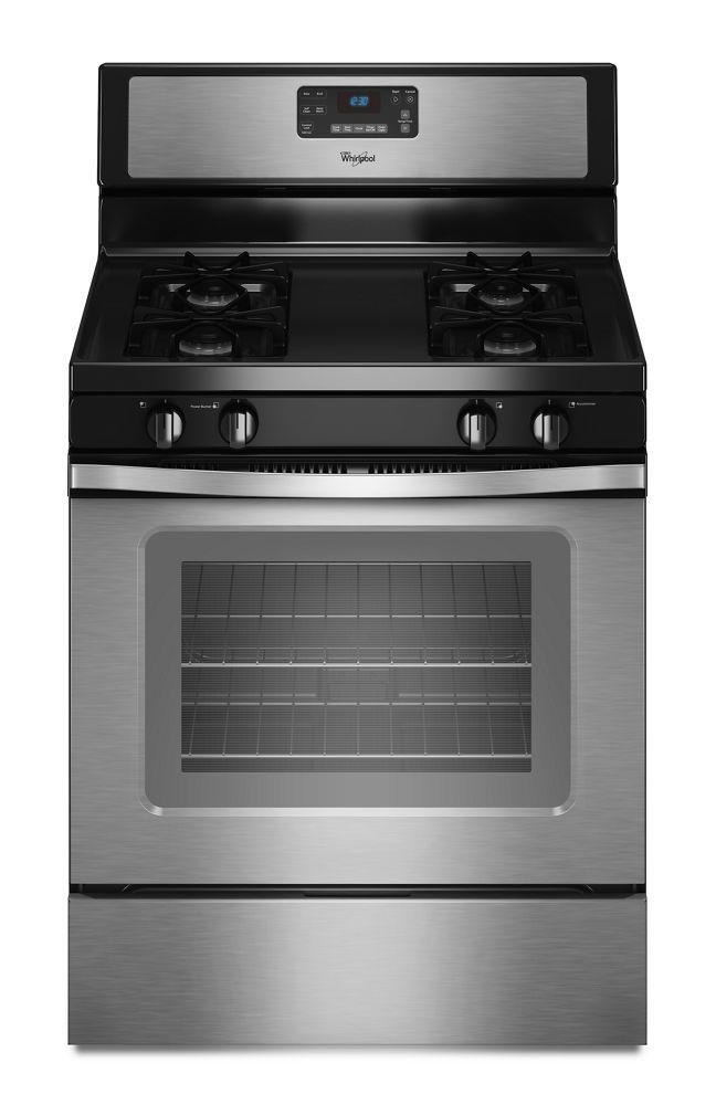 Whirlpool5.0 Cu. Ft. Capacity Gas Range With Accubake® Temperature Management System