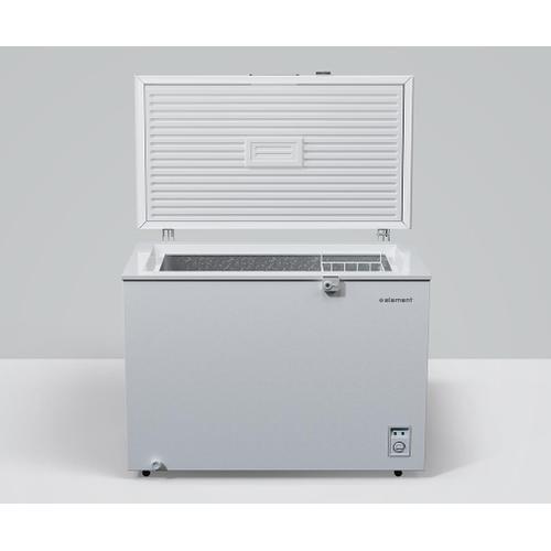 Element - Element 9 cu. ft. Chest Freezer, White