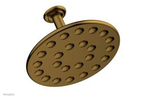 "24 Jet 10"" Ceiling Mount Shower Head K835 - Discontinued March 31, 2020 - French Brass Product Image"