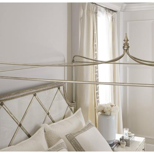 Hooker Furniture - Sanctuary Diamont Canopy Cal King Panel Bed