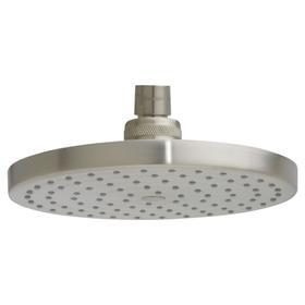6-3/4 Inch Modern Rain Showerhead - Brushed Nickel