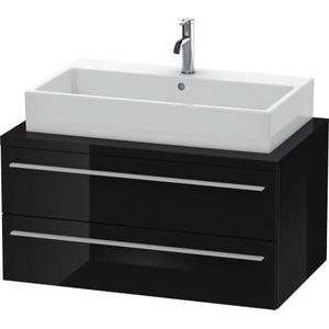 Vanity Unit For Console, Black High Gloss (lacquer)