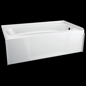 White ProCrylic 60 in. x 32 in. Right Hand Tub Product Image