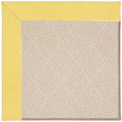 Creative Concepts-White Wicker Canvas Buttercup Machine Tufted Rugs