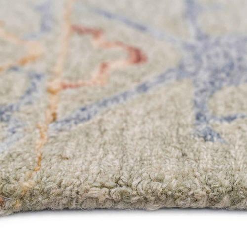 """Capel Rugs - Avanti-Oushak Natural Multi - Rectangle - 3'6"""" x 5'6"""""""