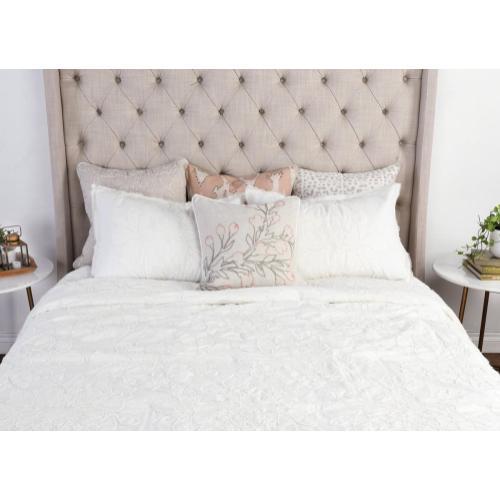 Matira Antique Cream Twin Comforter 68x86