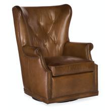 Living Room Maya Wing Swivel Club Chair