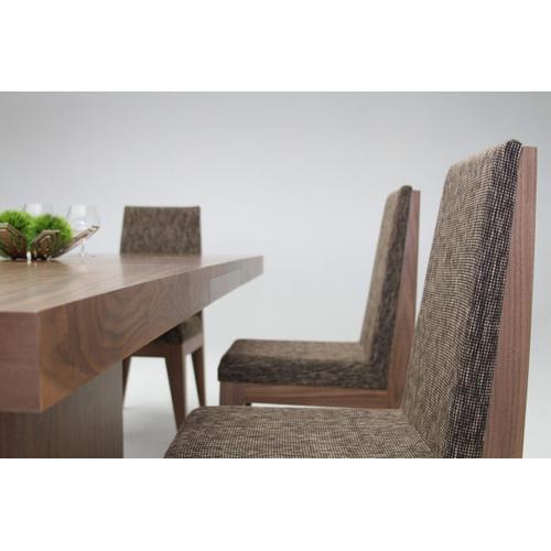 VIG Furniture - Modrest Zenith - Modern Walnut Extendable Dining Table