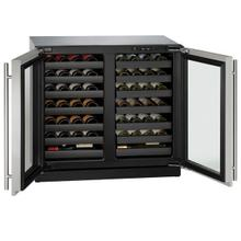 """View Product - 3036wcwc 36"""" Dual-zone Wine Refrigerator With Stainless Frame Finish (115 V/60 Hz Volts /60 Hz Hz)"""