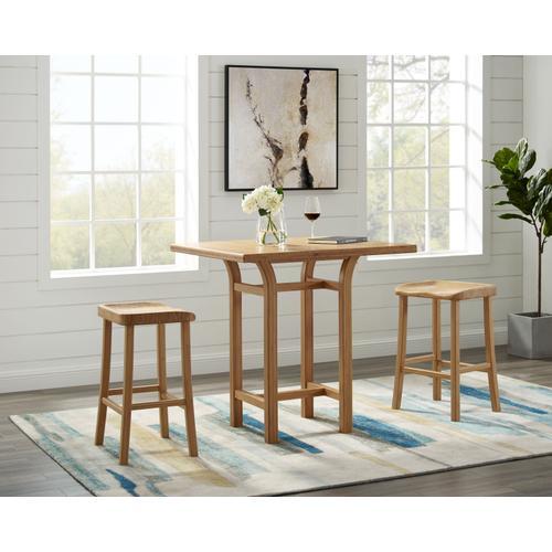 Greenington Fine Bamboo Furniture - Tulip Counter Height Stool, Caramelized, (Set of 2)