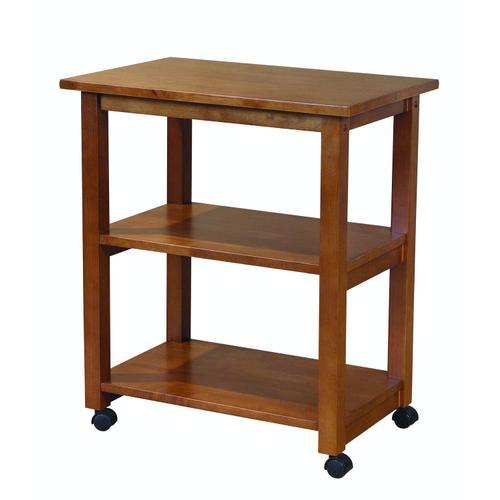John Thomas Furniture - Microwave Cart in Oak