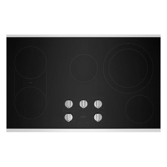 36-Inch Electric Cooktop with Reversible Grill and Griddle