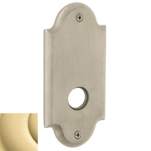 Baldwin - Non-Lacquered Brass R031 Arch Rose