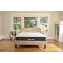 Lush Luxury Plush Non-Quilted Smooth Top Queen Memory Foam Mattress